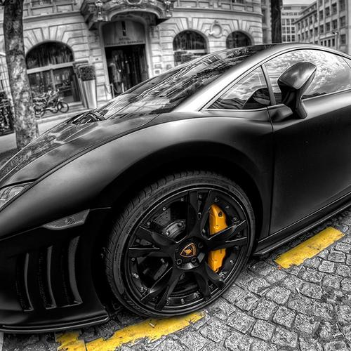 Lambroghini Gallardo Hdr wallpaper