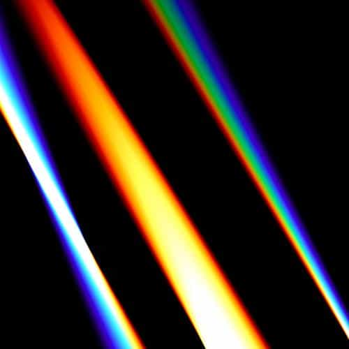 lense rainbow dark color pattern background