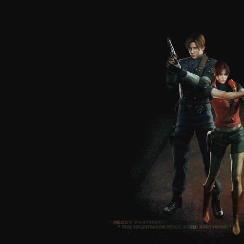 Leon and Claire Resident Evil 2