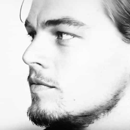 leonardo dicaprio face film star