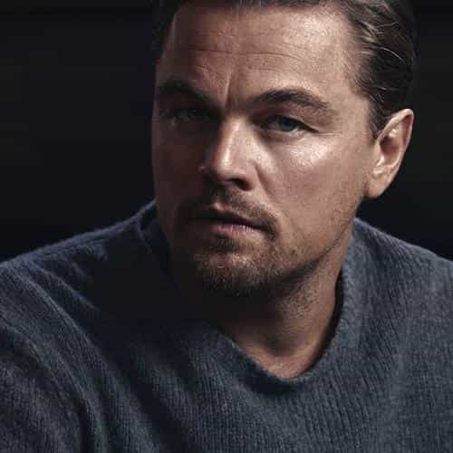 leonardo dicaprio sweater dark