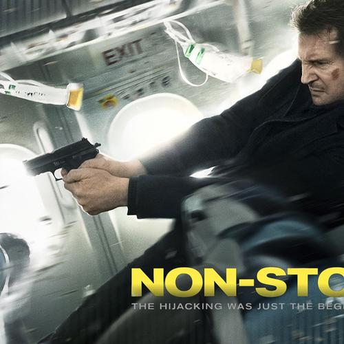 Liam Neeson in Non Stop movie 2014 wallpaper