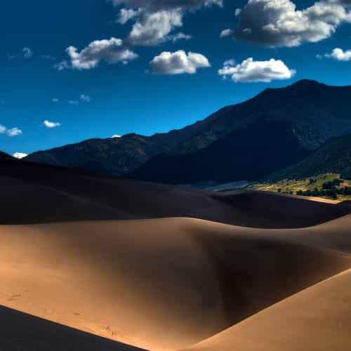 line in sand desert mountain nature