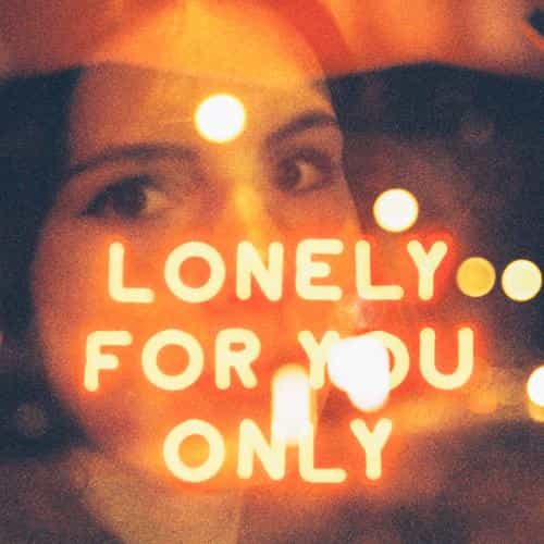 lonely for you only neon night illustration art