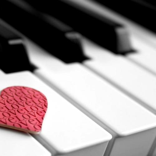 Love by the Piano wallpaper