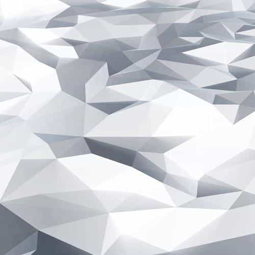 low poly art white blue pattern