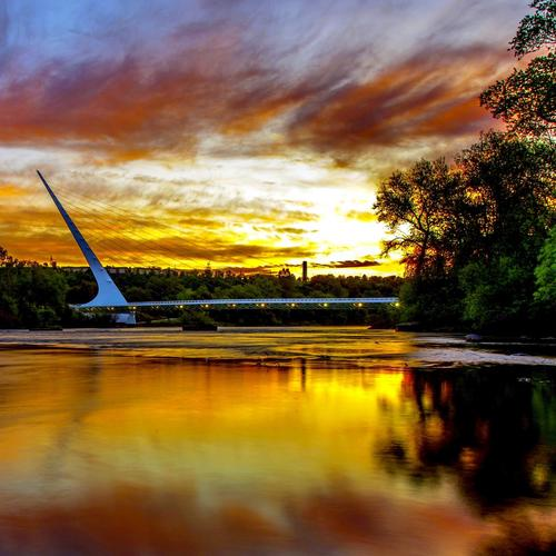 LOWER SACRAMENTO RIVER BRIDGE wallpaper