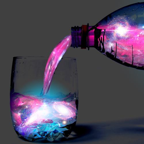Magic drink wallpaper