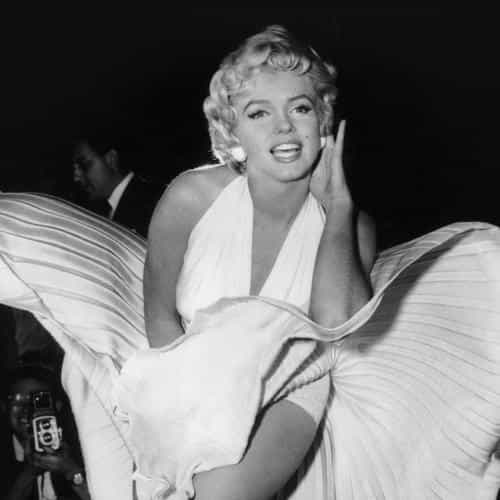 marilyn monroe dark bw celebrity