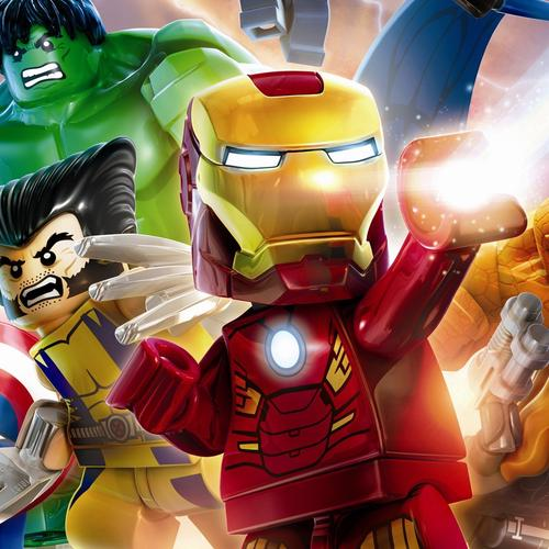 Marvel superheroes lego version wallpaper