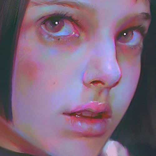 matilda leon paint illustration art yanjun cheng