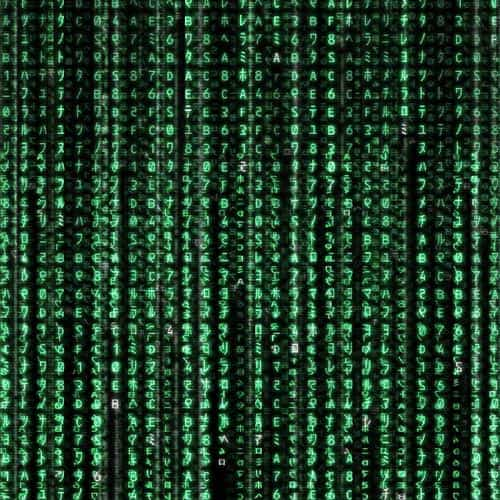 matrix texture film pattern background