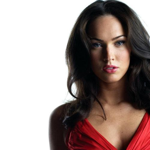 Megan Fox is hot in red dress 2014 wallpaper