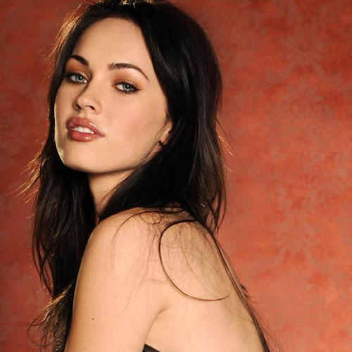 Megan Fox with sexy lips wallpaper