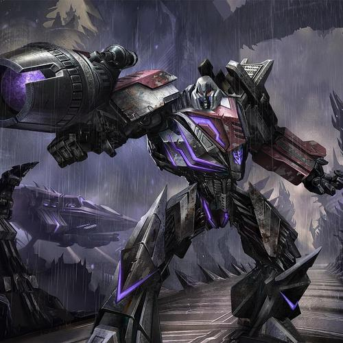 Megatron in Transformers War for Cybertron imagini de fundal