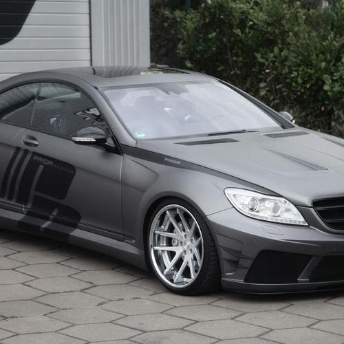 Mercedes Benz Cl C216 Black Edition ταπετσαρία