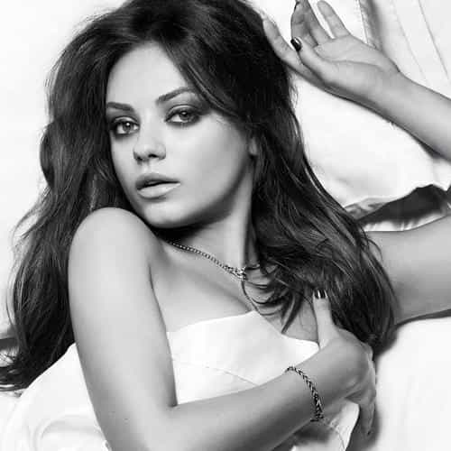 mila kunis esquire sexy woman face