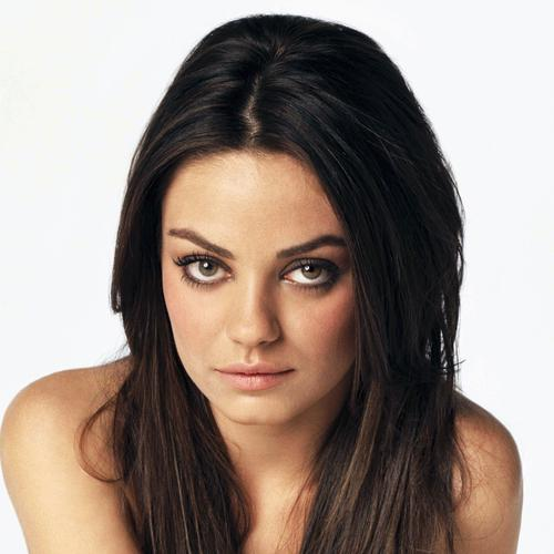 Mila Kunis portrait wallpaper
