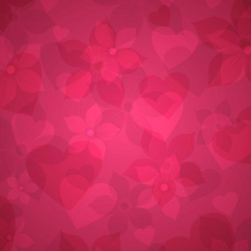 Minimalist pink texture with heart shape wallpaper