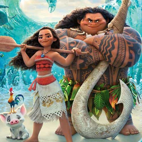 moana disney art sea anime illustration art