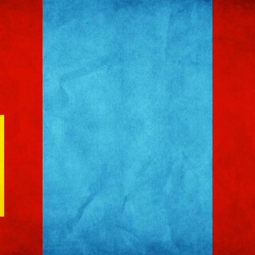 Mongolia flag wallpaper