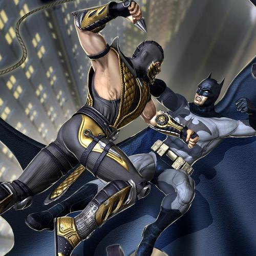 Mortal Kombat Vs Dc Universe behang