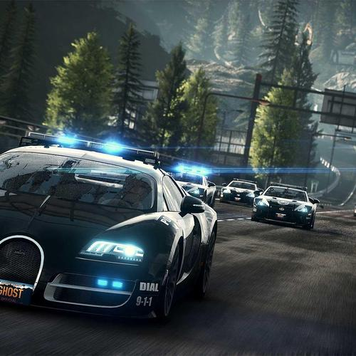 Need for Speed ​​Rivals Bugatti Cop Car tapet