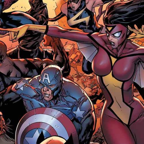 new avengers art comics illust