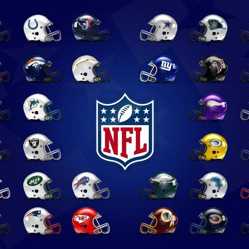 NFL Helmets wallpaper