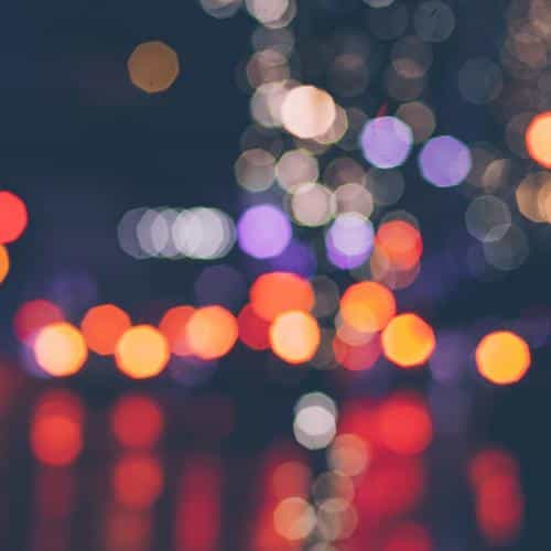 night bokeh art dark red light pattern