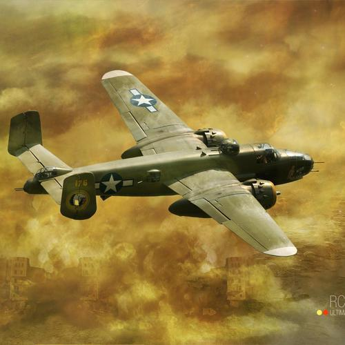 North American B-25 Mitchell papel de parede