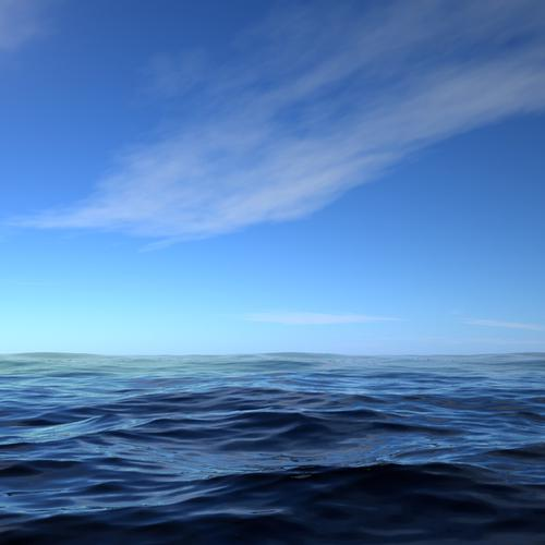 Ocean surface wallpaper