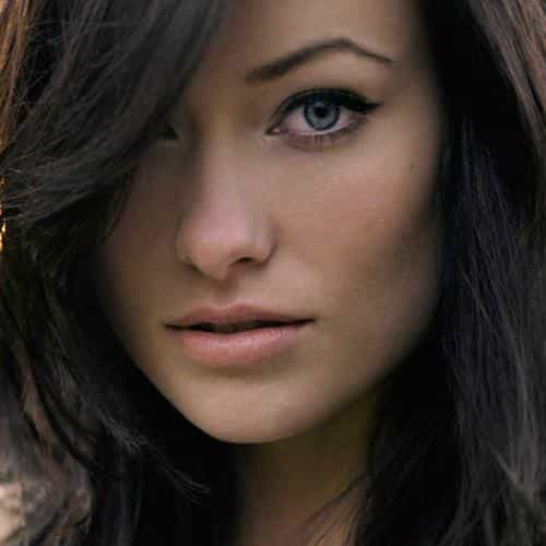olivia wilde stare face girl film