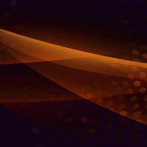 orbital art orange graphic digital art pattern