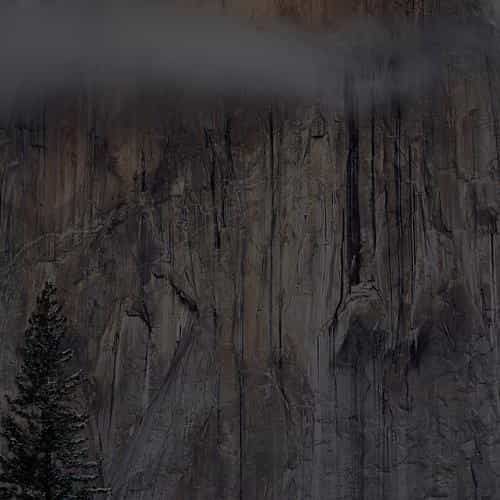 os x yosemite dark apple