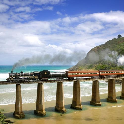 Outeniqua Choo Tjoe train à vapeur fonds d
