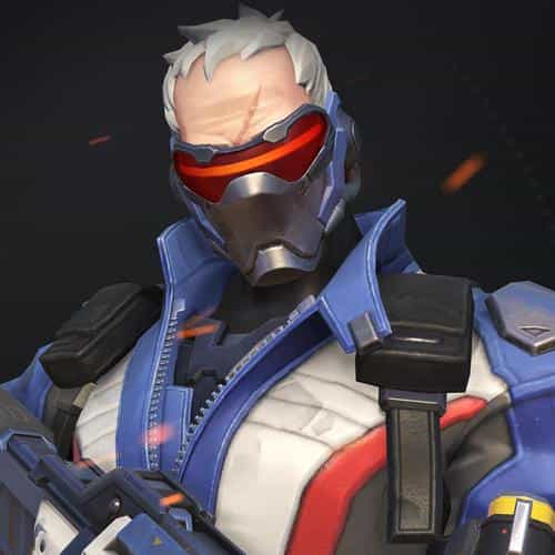 overwatch soldier 76 illustration art game