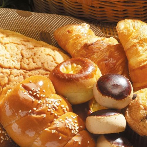 Pastry products wallpaper
