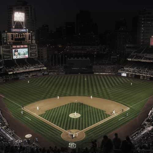 petco park mlb stadium sports life dark