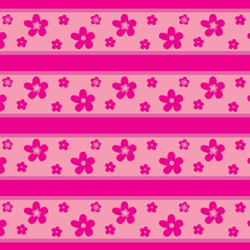 Pink flowers texture wallpaper