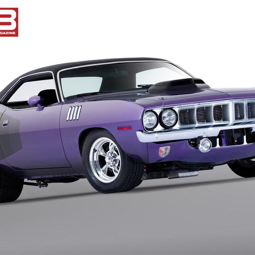 Plymouth Cuda fonds d
