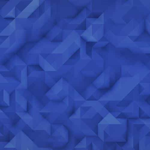 polygon art blue triangle pattern