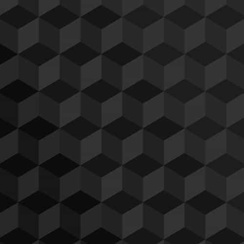 polygon dark bw art graphic pattern