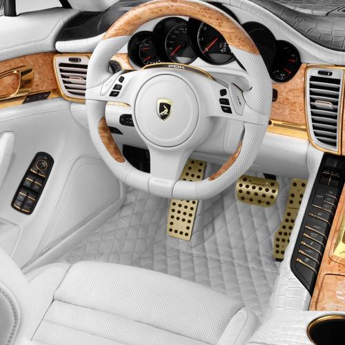 Porsche Panamera Stingray Gtr interior wallpaper