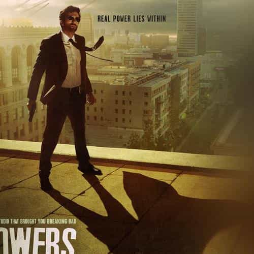 powers tvshow drama art poster