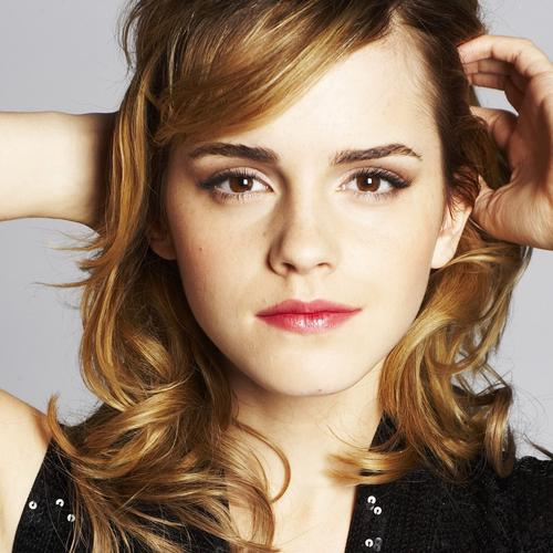 Jolie Emma Watson portrait photo fonds d