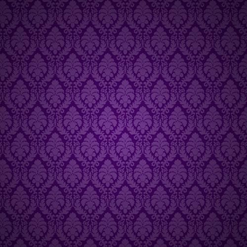 Purple floral texture wallpaper