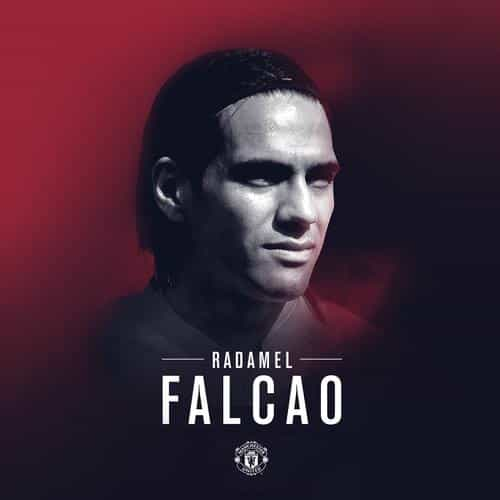radamel falcao manchester united welcome