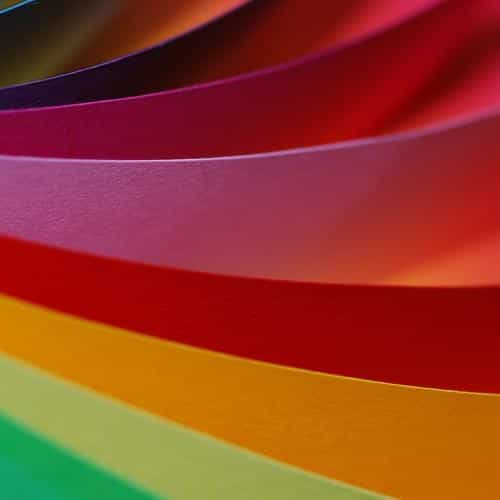 rainbow papers pattern