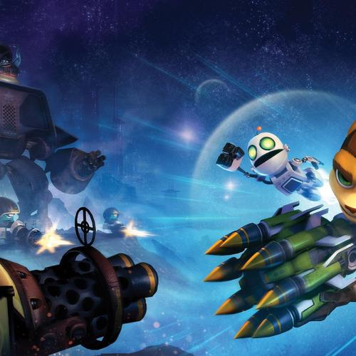 Ratchet & Clank Q-force taustakuvat